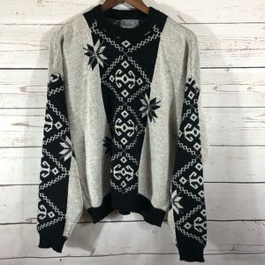 "Vintage Chunky Oversized ""Ugly Christmas Sweater"""